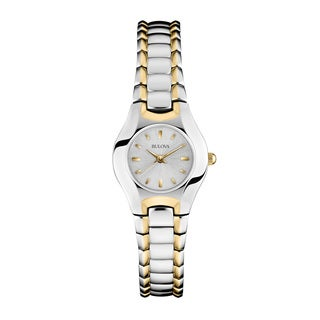 Bulova Women's 98T84 2-tone Stainless Steel Water-resistant Watch