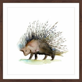 Marmont Hill - 'Porcupine' by Michelle Dujardin Framed Painting Print