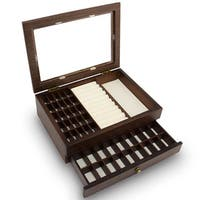 Ikee Design Premium Wooden Large Jewelry Box Organizer Storage