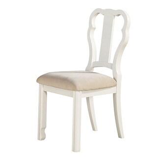 Acme Furniture Ira Chair, White