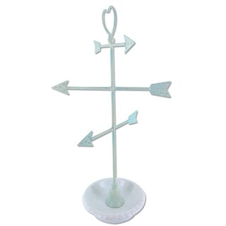 Ikee Design Arrows Metal/Ceramic Jewelry Display and Jewelry Stand Hanger Organizer