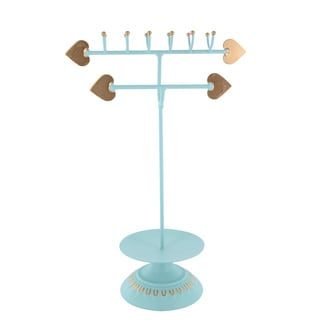 Ikee Design Arrows Blue-green Metal Jewelry Stand Organizer