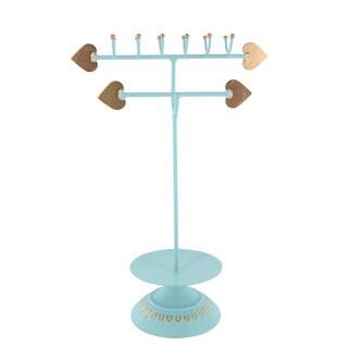 Ikee Design Arrows Blue-green Metal Jewelry Stand Organizer