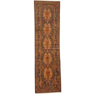 Handmade Balouchi Wool Runner (Afghanistan) - 2'8 x 9'6