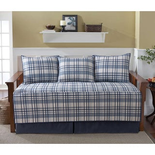 VCNY Home 5 Piece Durham Cotton Daybed Quilt Set