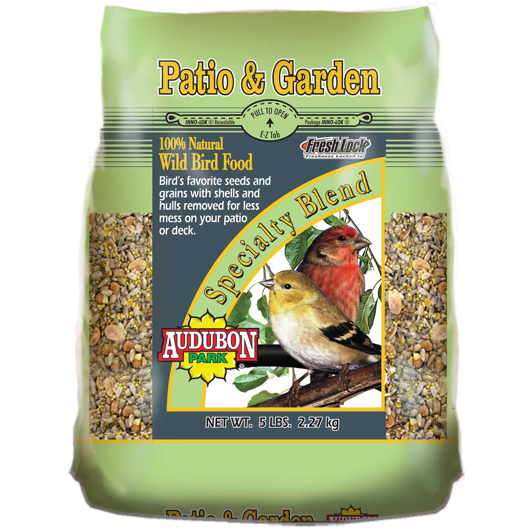 Audubon Park 5 lb Park Patio And Garden Wild Bird Food (5...