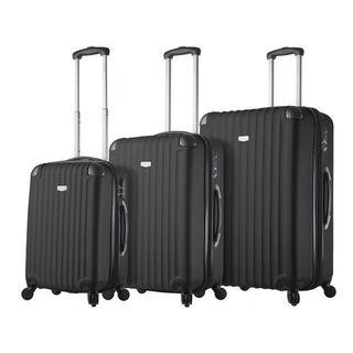 Mia Viaggi Italy Rovigo 3-piece Hardside Spinner Luggage Set (4 options available)