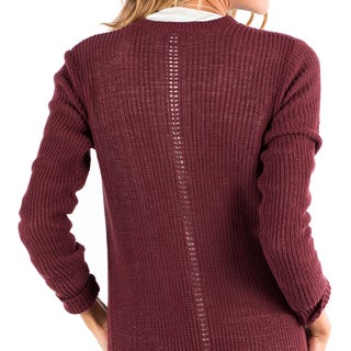 Downeast Basics Women's Cotton Snow Duster Cardigan
