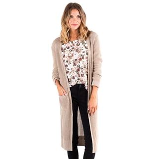Downeast Basics Women's Cotton Snow Duster Cardigan