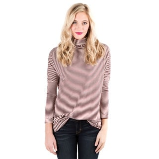 DownEast Basics Women's Slow & Steady Red Top