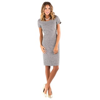 DownEast Basics Women's Saunter By Sheath Dress
