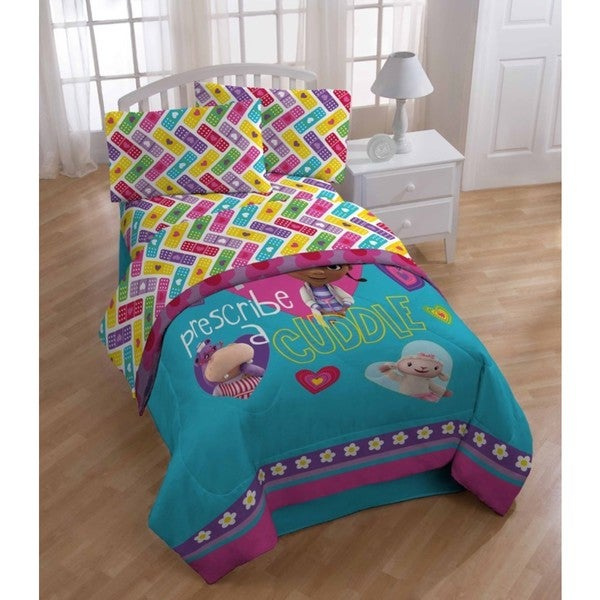 Disney Junior Doc McStuffins Caring Twin Sheet Set