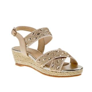 Kensie Girl Girls' Wedge Espadrille Sandal