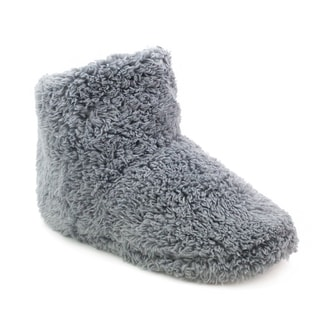 Olivia Miller 'Lyra' Faux Fur Slipper Booties