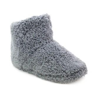 Olivia Miller 'Lyra' Faux Fur Slipper Booties (Option: Extra Large)|https://ak1.ostkcdn.com/images/products/13848672/P20491077.jpg?_ostk_perf_=percv&impolicy=medium