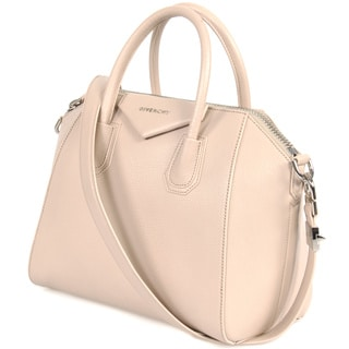 Givenchy Antigonia Small Tan Matte Leather Tote Bag