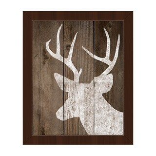 Reindeer on Deck Framed Canvas Wall Art (More options available)