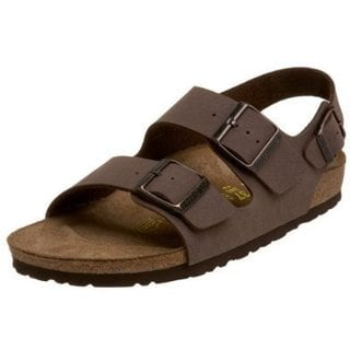 Milano Birkibuc Women's Brown Sandals