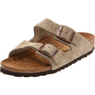 Birkenstock Arizona Brown Suede Sandals