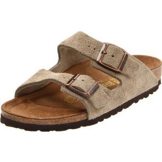Birkenstock Arizona Brown Suede Sandals