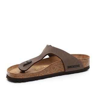 Birkenstock Women's Gizeh Brown Birkibuc Sandals