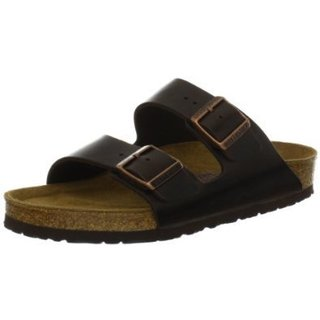 Birkenstock Arizona Brown Soft Footbed Sandals