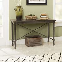 Oxford Industrial Collection Console Table by Silverwood