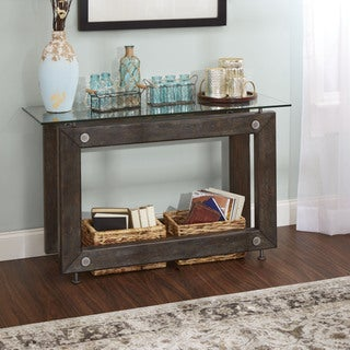 Knox Industrial Collection Console Table by Silverwood
