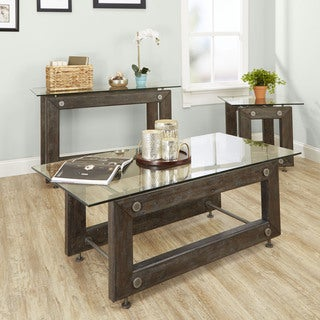 Knox Industrial Collection Coffee Table by Silverwood