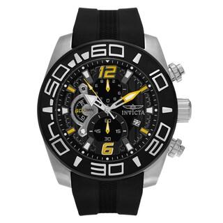 Invicta Men's 22809 'Pro Diver' Black Silicone Watch