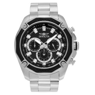 Invicta Men's 'Aviator' 22803 Stainless Steel Chronograph Link Bracelet Watch