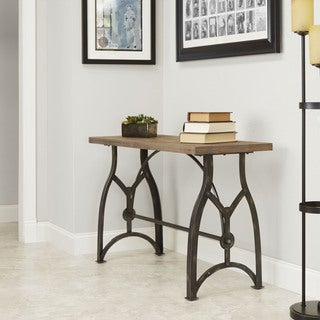 Beckett Industrial Collection Console Table by Silverwood