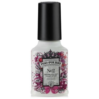 Poo-Pourri No. 2 Peach and Mixed Berry 2-ounce Before-You-Go Toilet Spray