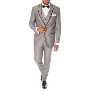 Ferrecci Premium Vested Grey and Black Slim-fit 3-piece Tuxedo|https://ak1.ostkcdn.com/images/products/13849879/P20491967.jpg?_ostk_perf_=percv&impolicy=medium