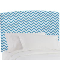 Skyline Furniture Zig Zag True Turquoise Kids Headboard