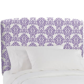Skyline Furniture Luminary Lilac Upholstered Kids Headboard