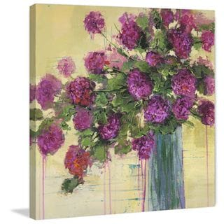 Marmont Hill - 'Flower Remedy II' by Julie Joy Painting Print on Wrapped Canvas