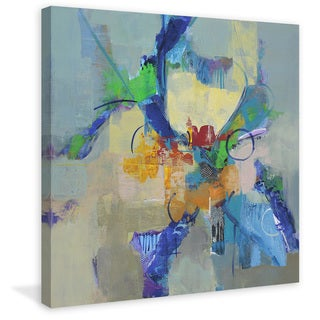 Marmont Hill - 'Time Travel II' by Julie Joy Painting Print on Wrapped Canvas