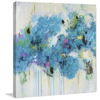 Marmont Hill - 'Center Piece I-2' by Julie Joy Painting Print on Wrapped Canvas