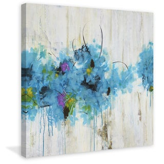 Marmont Hill - 'Center Piece II-1' by Julie Joy Painting Print on Wrapped Canvas