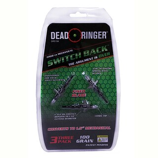 Dead Ringer CyborgMulticolor Stainless Steel Broadheads