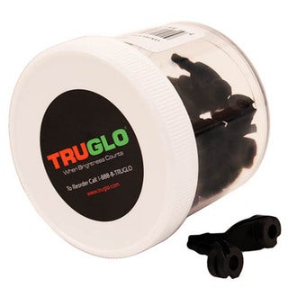 Truglo Centra Xtreme Peep Black 1/16 No Tube Arrow Rests (Case of 50)