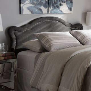 Baxton Studio Contemporary Fabric Upholstered Headboard
