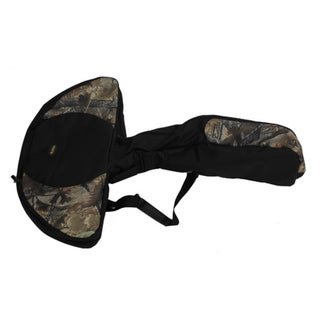Allen Cases The Glove Fitted Deluxe Black/Tan Camo Crossbow Case