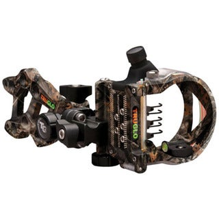 TruGlo Rival FX 5 Lost Camo Fiber-optic Push-button Light Bow Sight