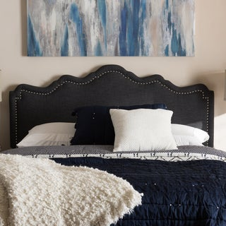 Baxton Studio Contemporary Fabric Upholstered Headboard. Contemporary Bedroom Furniture   Overstock com Shopping   All The