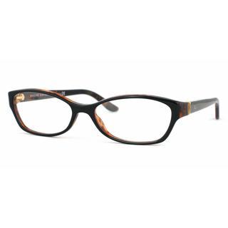 Ralph Lauren Womens RL6068 5260 Black Plastic Cat Eye Eyeglasses