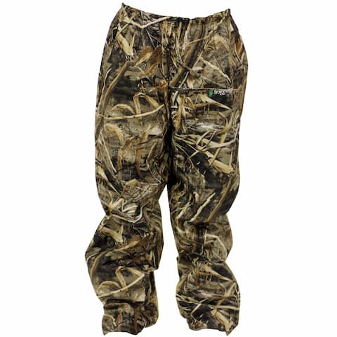 Frogg Toggs Men's Pro Action Camo Pants (Realtree Max5/Camo)