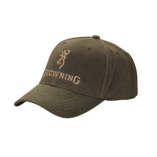 Browning Olive Cotton Dura-wax Cap
