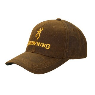 Browning Dura-Wax Cap Brown, Solid Color